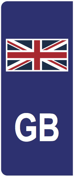 Number Plate Flags